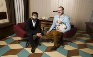 José Martret y Alberto Puraenvidia, de La pensión de las pulgas.