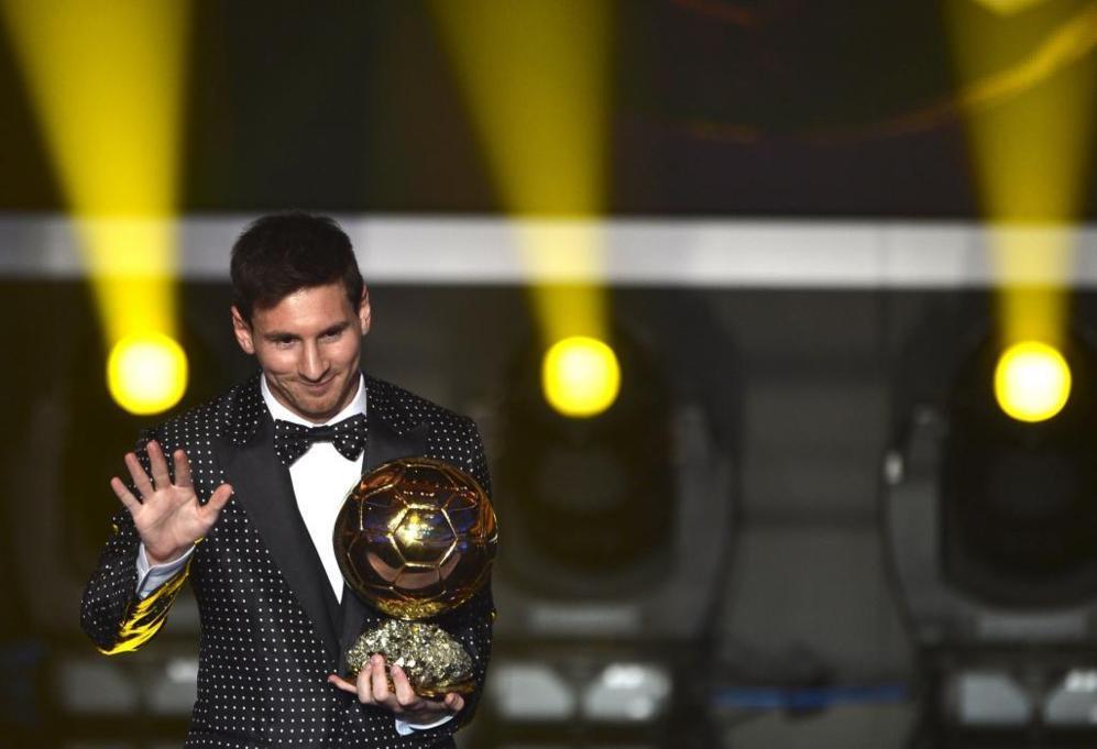 Balón de Oro 2012.