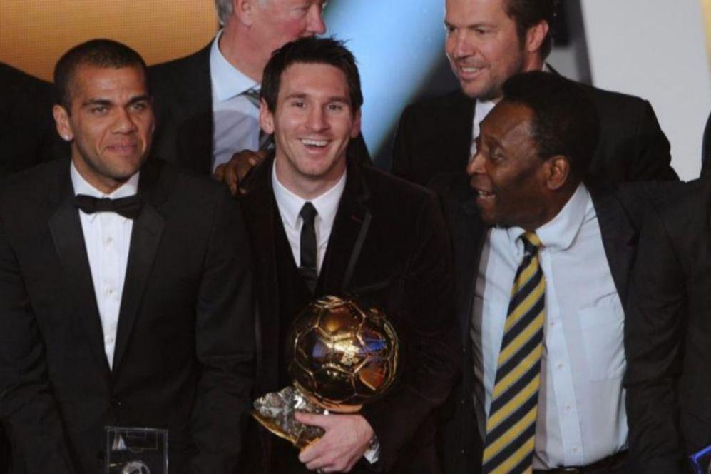 Balón de Oro 2011.
