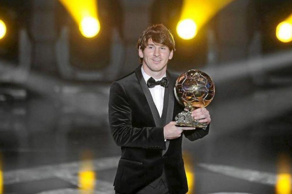 Balón de Oro 2010.