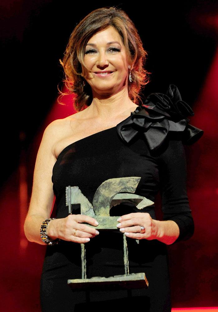 Consiguió ser premiada con un premio Onda en la clasificación de...