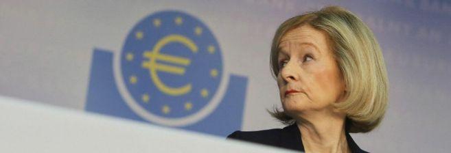 La presidenta del Mecanismo Europeo de Supervisión (MUS), Danièle...