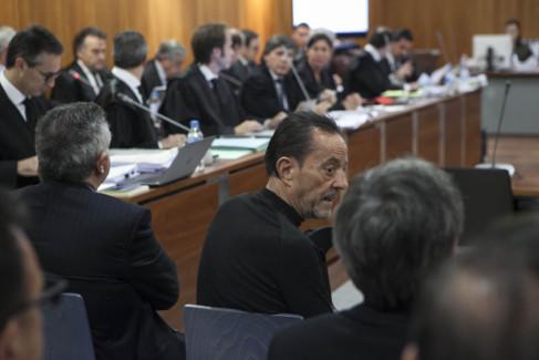 Julián Muñoz, en la sesión inicial del juicio del caso Goldfinger.
