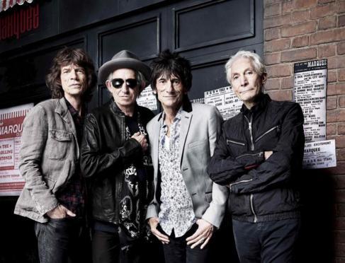 The Rolling Stones en el The Marquee, enLondres.