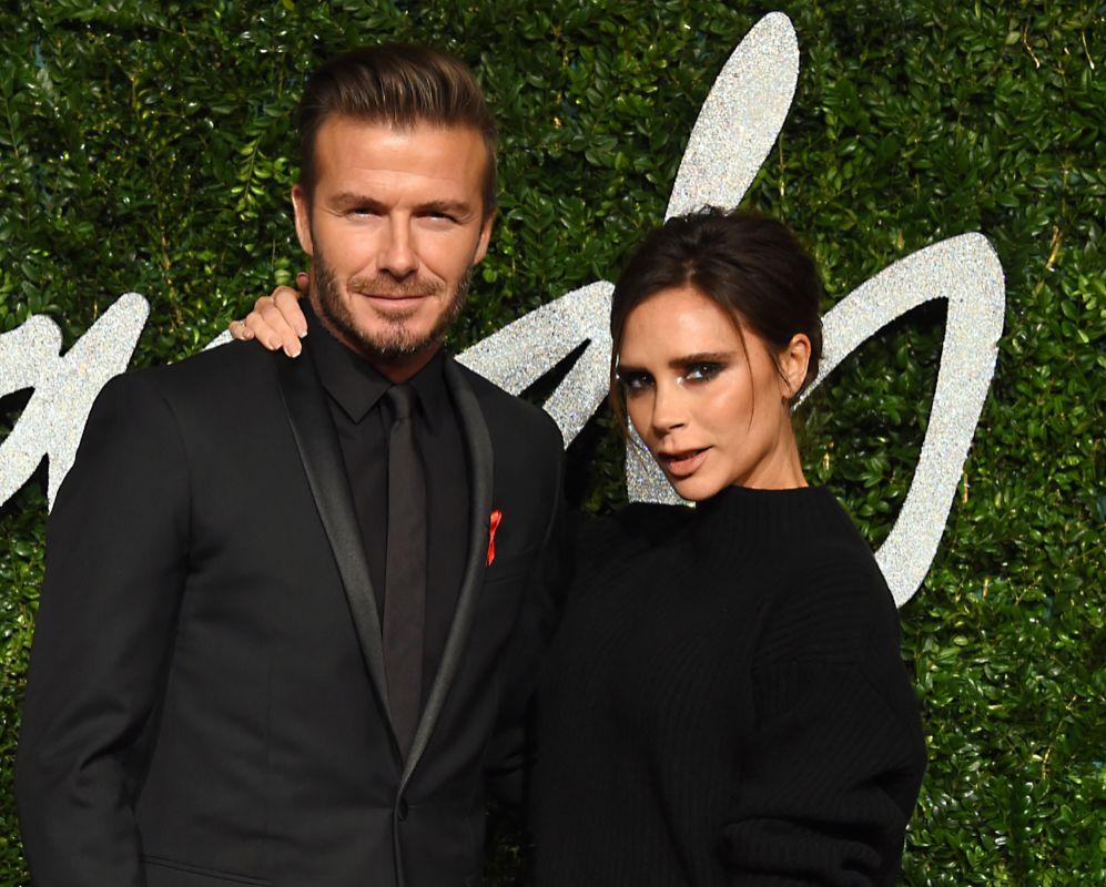 La pareja formada por David Beckham y Victoria Beckham es una máquina...