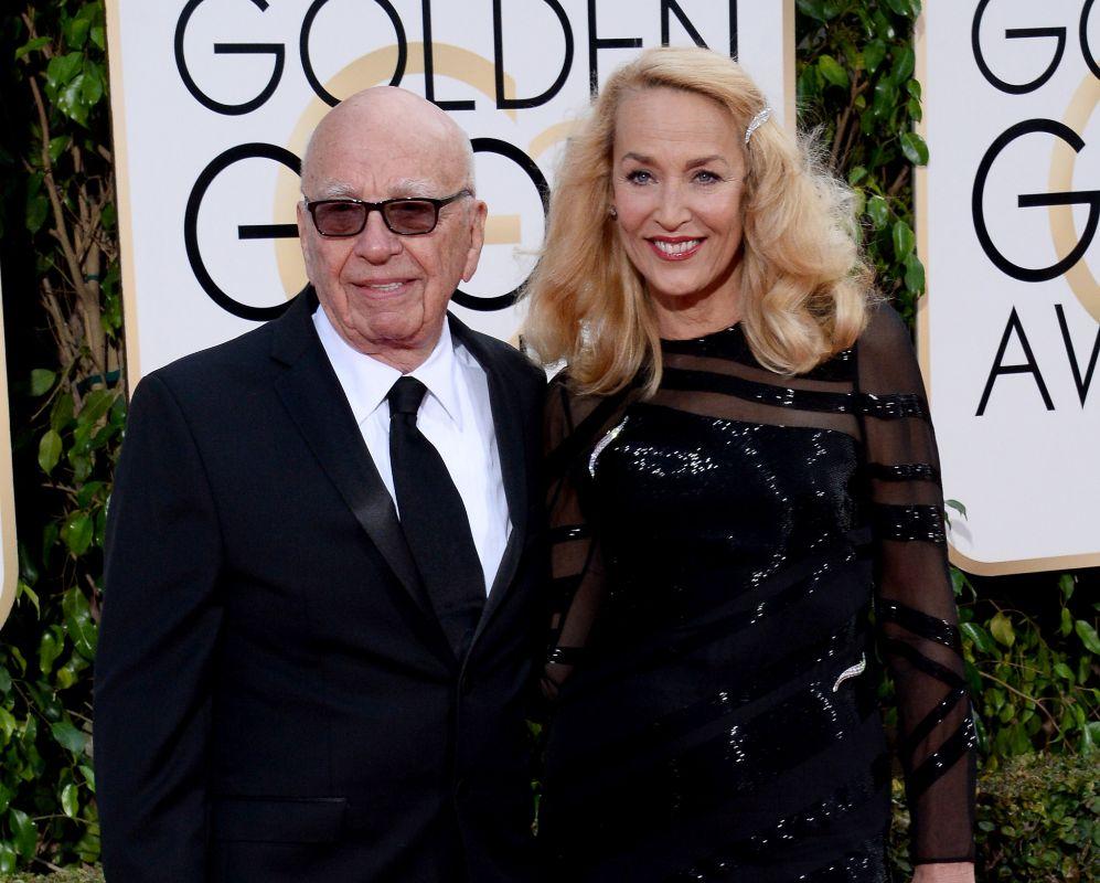 Rupert Murdoch y Jerry Hall se darán el 'sí, quiero' próximamente....