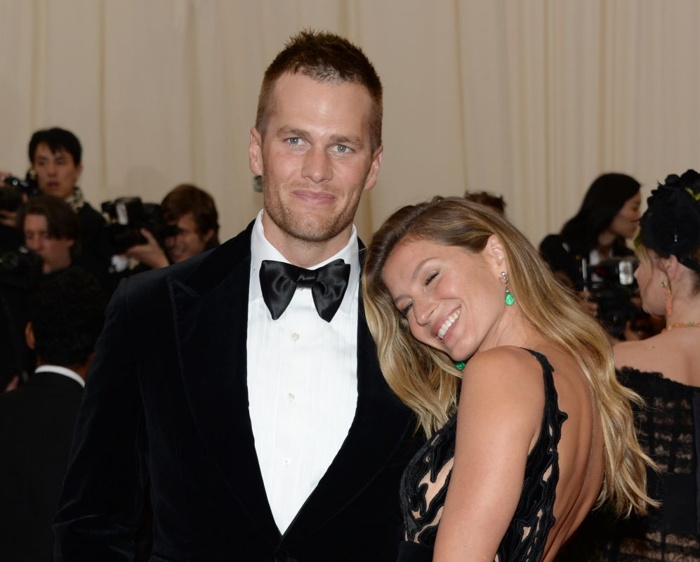 El matrimonio de éxito formado por Gisele Bundchen y Tom Brady es uno...
