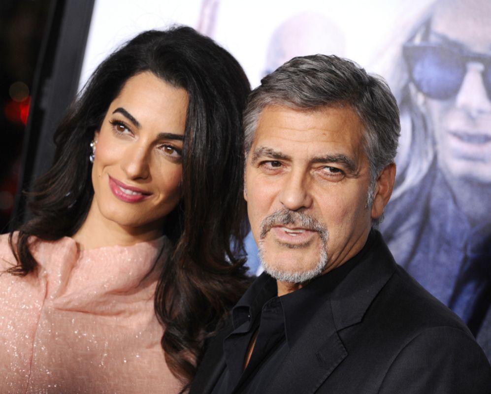 La famosa pareja formada por George Clooney y Amal Alamuddin se...