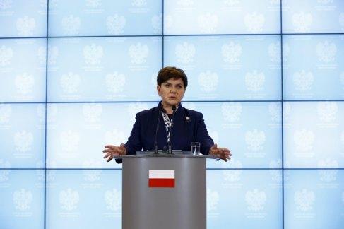 Beata Szydlo, en el debate parlamentario sobre las relaciones de...