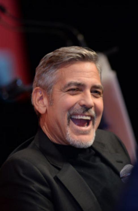 <strong>George Clooney.</strong> Cuando alguien tiene razón, hay que...