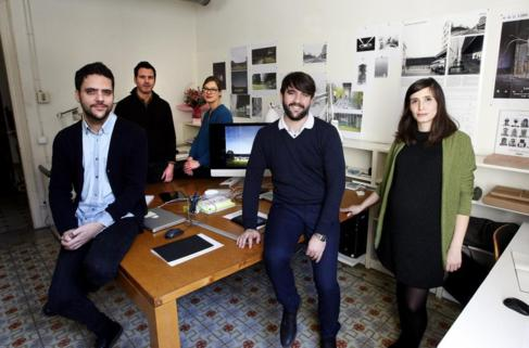 El joven estudio formado por Arnau Sastre, José Zabala, Anne...