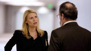 Carrie Mathison (Claire Danes) y Mandy Patinkin (Saul Berenson), en la...