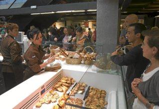 El Mercado de San Antón en un Gastrofestival.