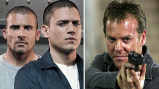 Wentworth Miller y Dominic Purcell, de 'Prision Break', y Kiefer...