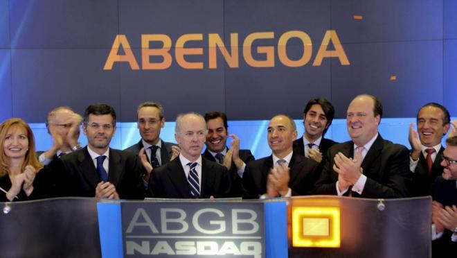 El ex presidente de la compañía española Abengoa Felipe Benjumea en...