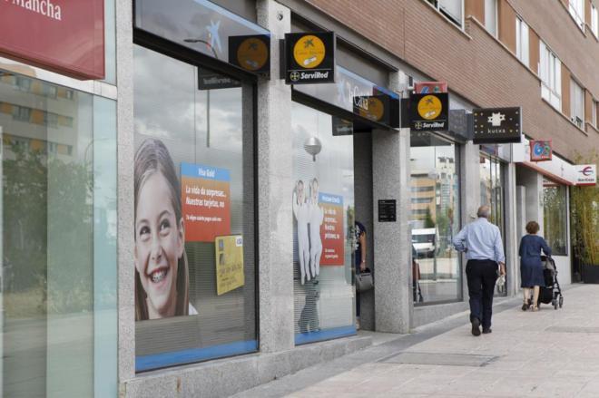 Bancos en Madrid