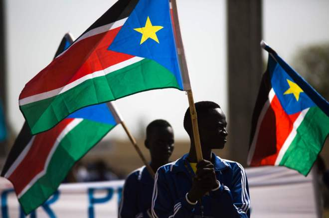 Resultado de imagen de bandera de sudan del sur