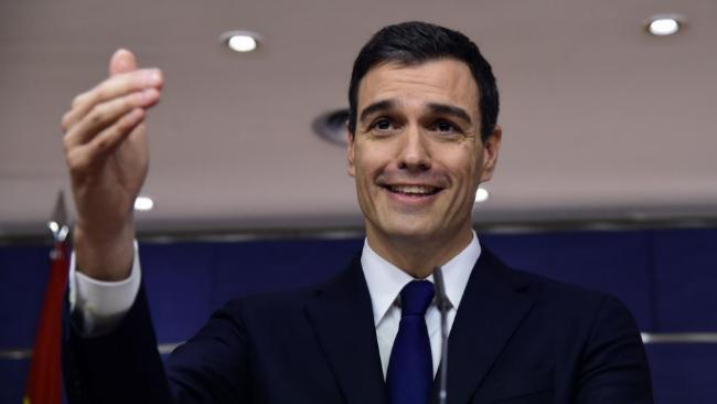 Pedro Sánchez, en una rueda de prensa celebrada la semana pasada en...