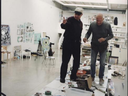 Luis Gordillo y Juan Uslé.
