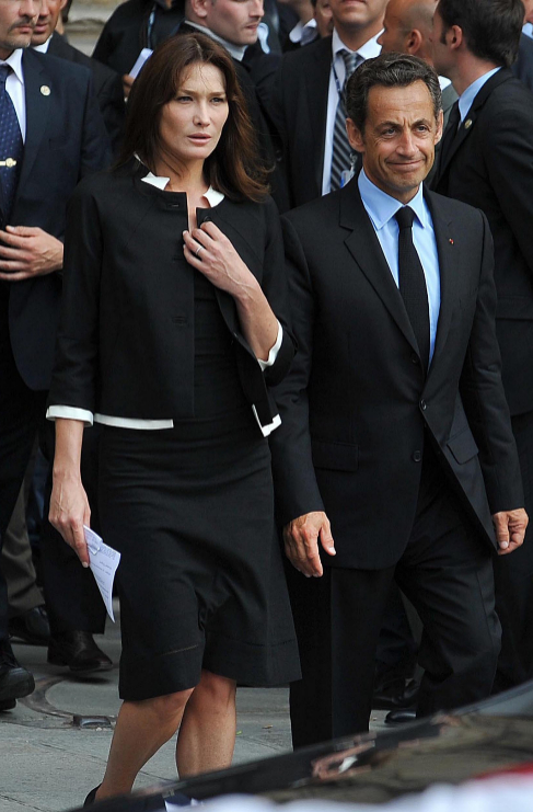 <strong>Carla Bruni.</strong> Durante su etapa como primera dama de...