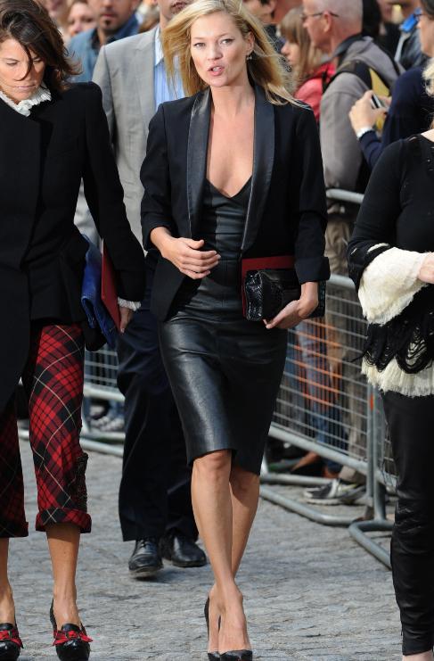 <strong>Kate Moss</strong>. La pérdida del diseñador Alexander...