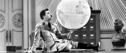 Un fotograma de 'El gran dictador'.