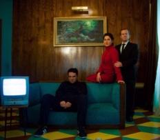 Miriam Montilla, Paco Churruca y Diego Molero.
