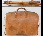 Silla y bolsa de caza de Alfonso XIII