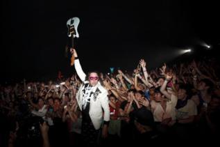 Arcade Fire, en Coachela.