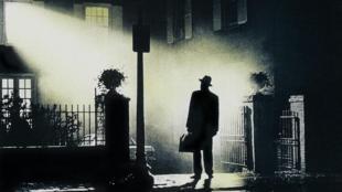 Imagen del cartel de la película 'El exorcista'.