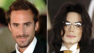 Joseph Fiennes y Michael Jackson.
