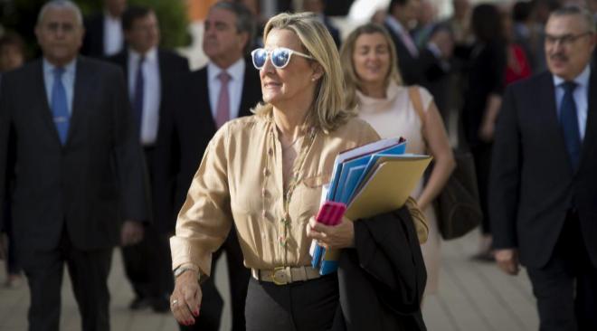 Asunción Barberá, hermana de la ex alcaldesa de Valencia y senadora...