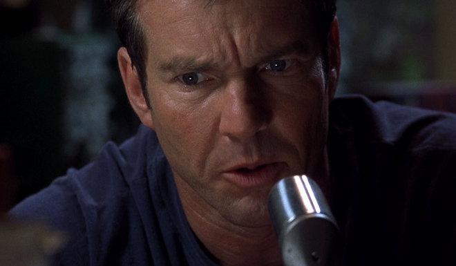 Dennis Quaid, en la película 'Frequency' del año 2000.