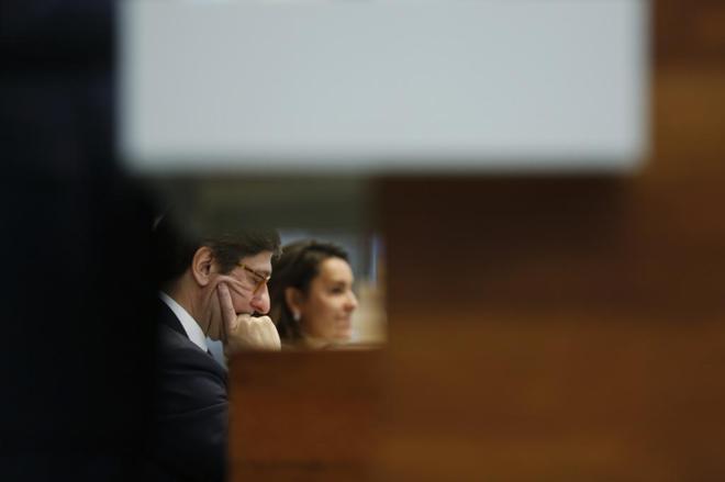 El director de Bankia Jose Ignacio Goirigolzarri durante una...