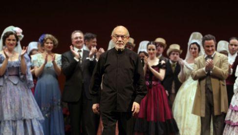 Foto del homenaje que se celebró en los Teatros del Canal.