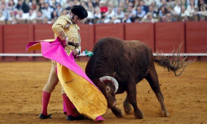 El torero sevillano Morante de La Puebla.