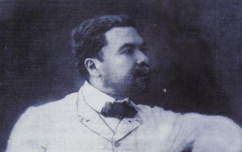 El escritor nicaragüense, Rubén Darío.