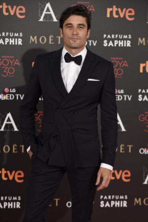 El actor Álex García.