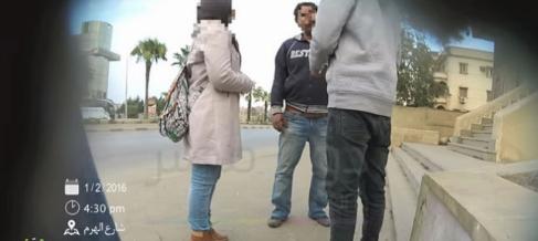 Un momento del vídeo del portal de noticias local DotMasr, que puedes...