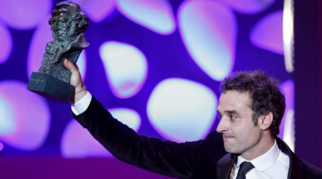 Daniel Guzman con su Premio Goya 2016