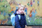 El príncipe Jorge, hijo de los duques de Cambridge.