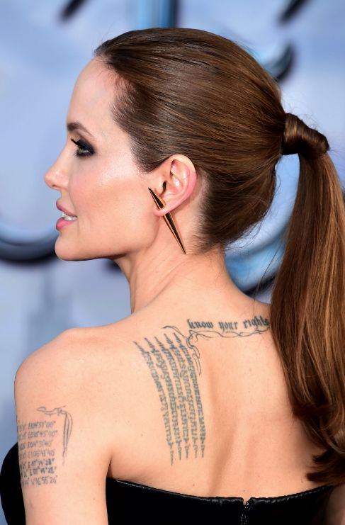 <strong>Angelina Jolie.</strong> La obsesión de Angelina Jolie (40)...
