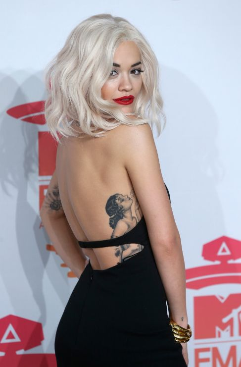 <strong>Rita Ora.</strong> Incluso en las zonas más íntimas tiene...