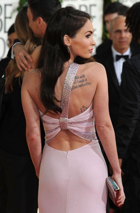<strong> Megan Fox.</strong> Hay dos tipos de personas: las que...