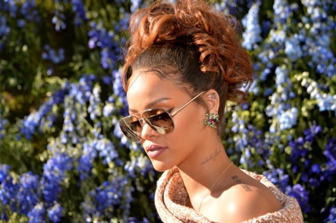 Cantante Rihanna