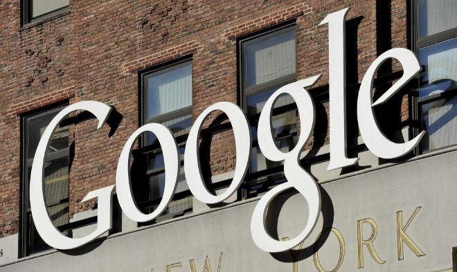 Imagen exterior de las oficinas de Google en Nueva York.
