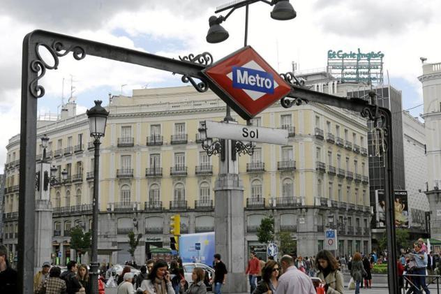 ef4d8ac500c8f Estación de Metro de la Puerta del Sol