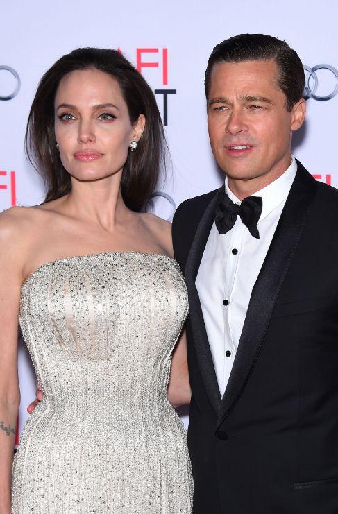 <strong>Angelina Jolie y Brad Pitt. </strong>Los rumores de divorcio...