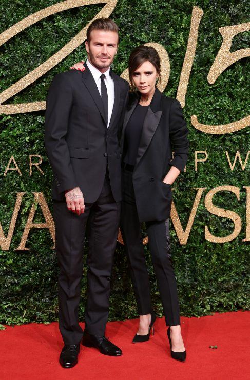 <strong>Victoria y David Beckham</strong>. Reconozcamos la verdad. Si...