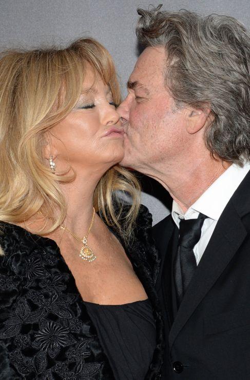 <strong>Goldie Hawn y Kurt Russell</strong>. Toda la vida juntos y...